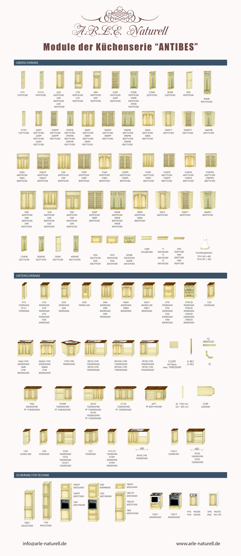 landhausküche massivholz eiche modulküche