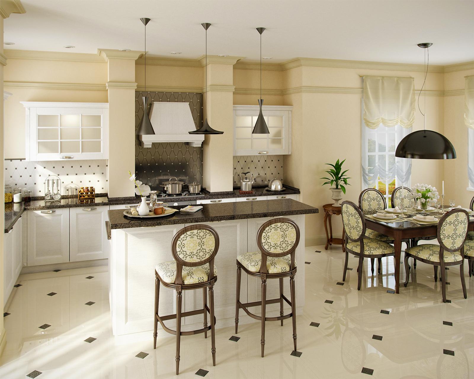 hochwertige massivholzküche küchenzeile mit insel landhausstil l küche