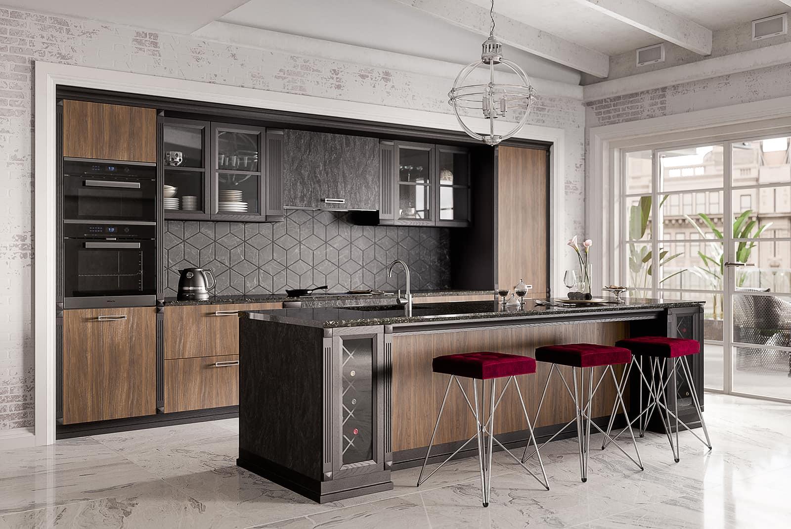 marmor küche