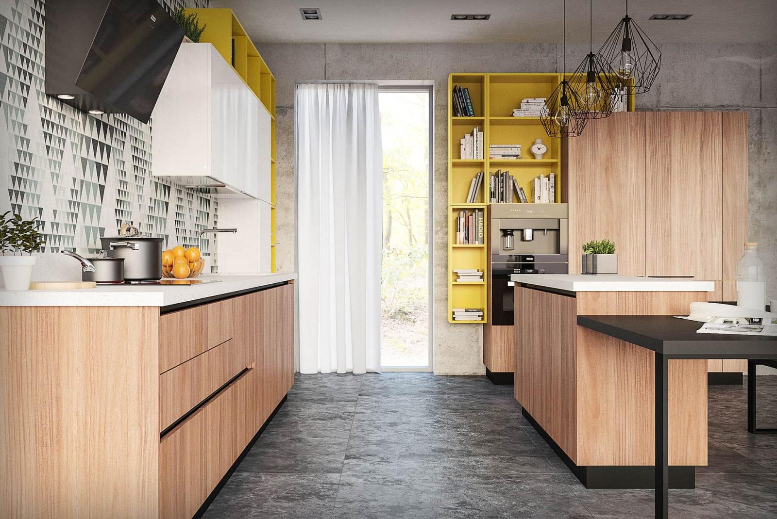 küche mit insel moderne küchen