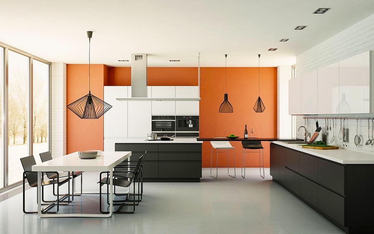 designerküche exclusive küche grifflose küche