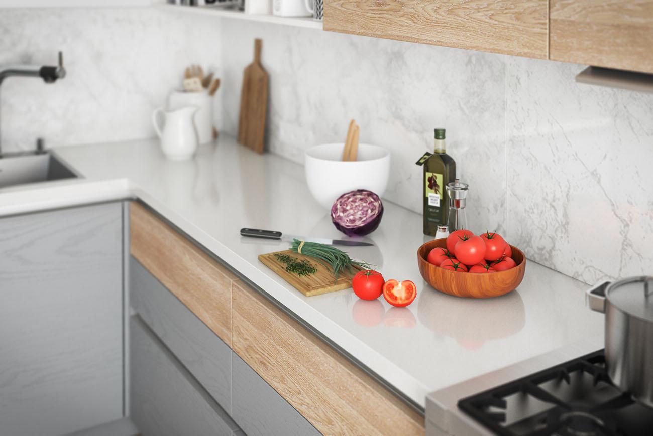 moderne landhausküche calypso grifflose küche lform grau