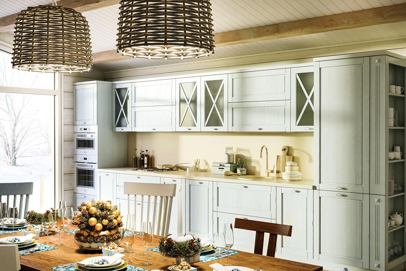 küchenblock landhausstil