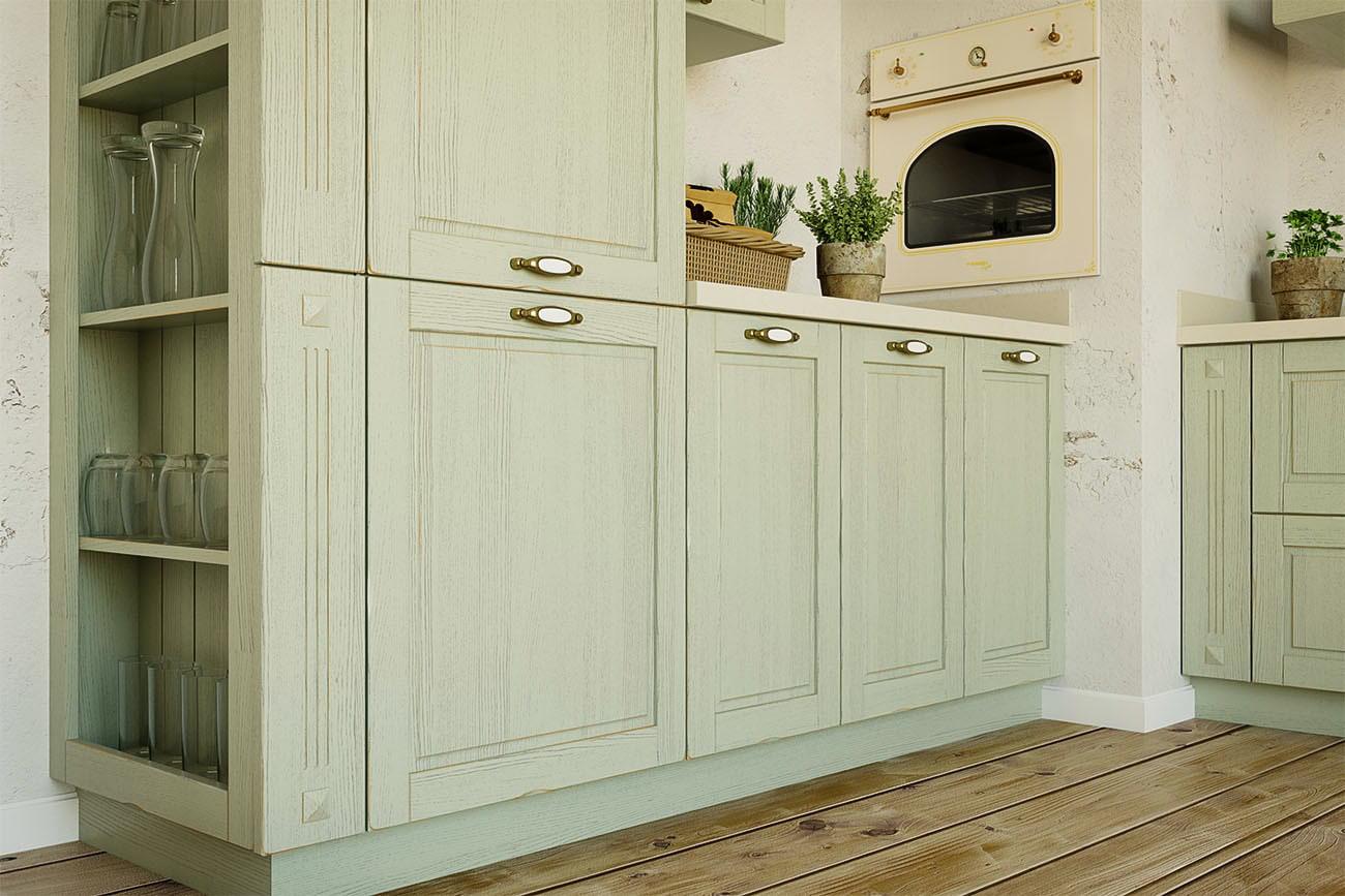 küche landhaus einbauküche l form