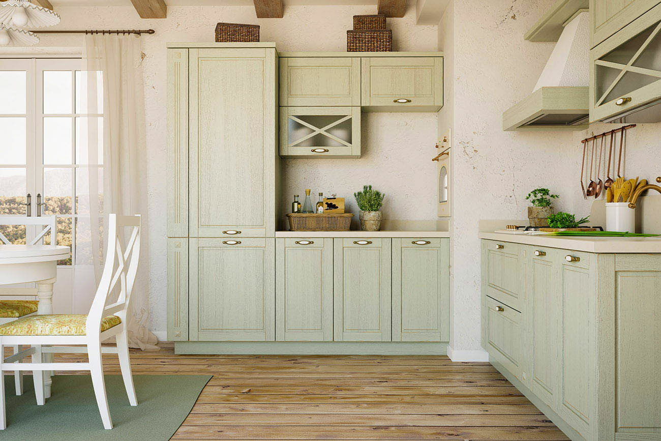 l küche küchenzeile echtholz