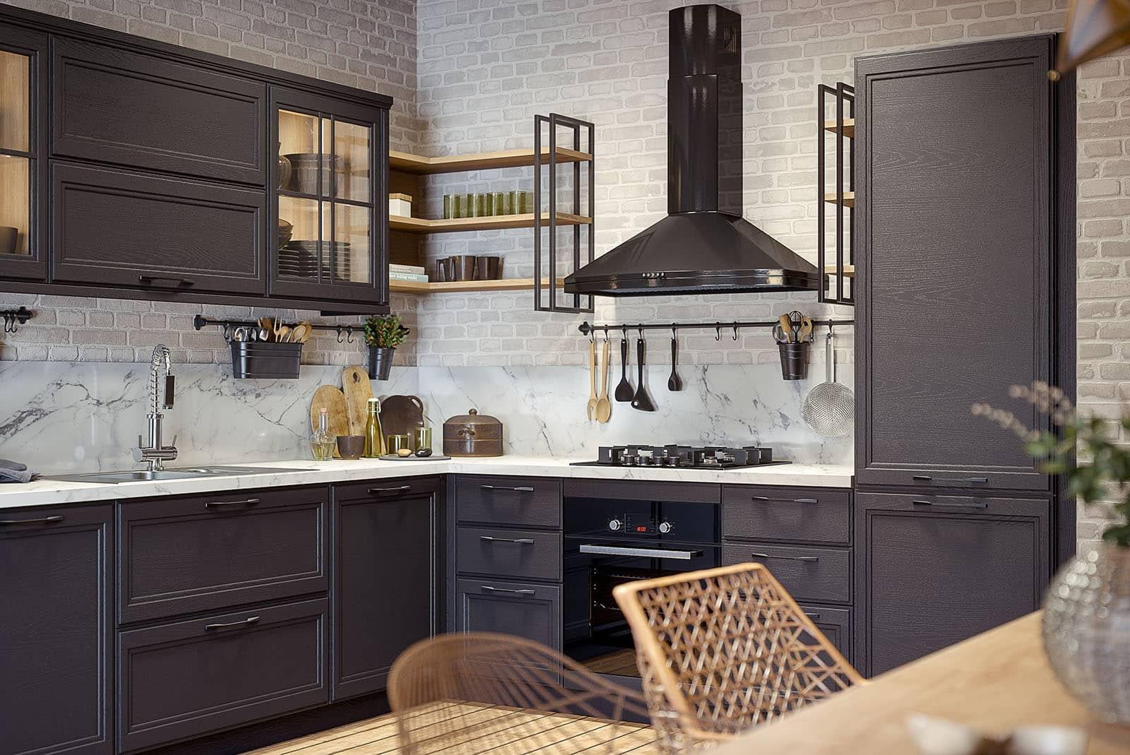 küche industriedesign küchenmöbel kaufen