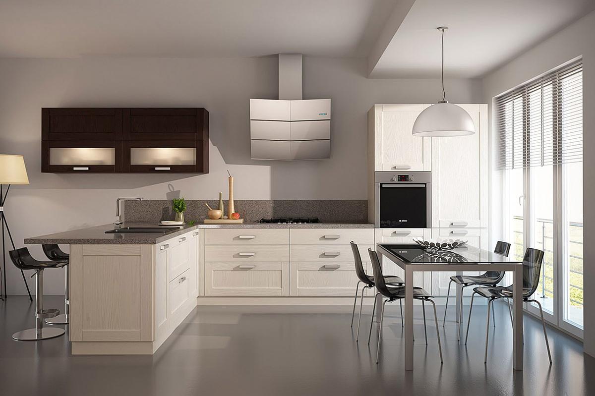 winkelküche kaufen moderne landhausküche beige wenge l einbauküche küchenzeile l form mit geräten