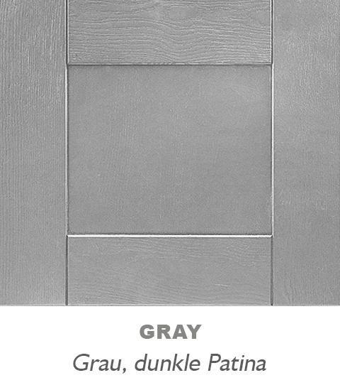 l form einbauküche grau