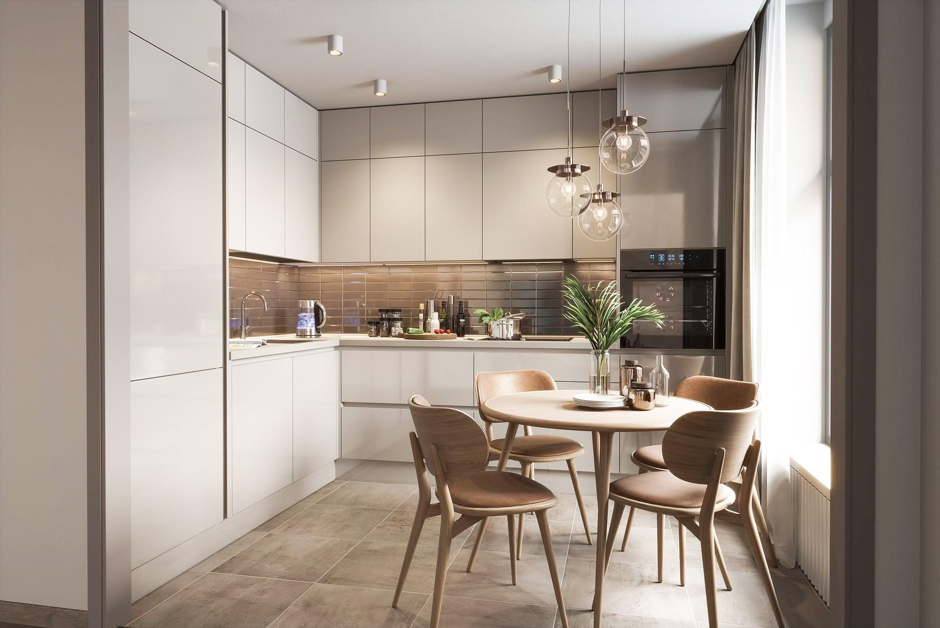 küchen l form einbauküche winkelküche küche creme
