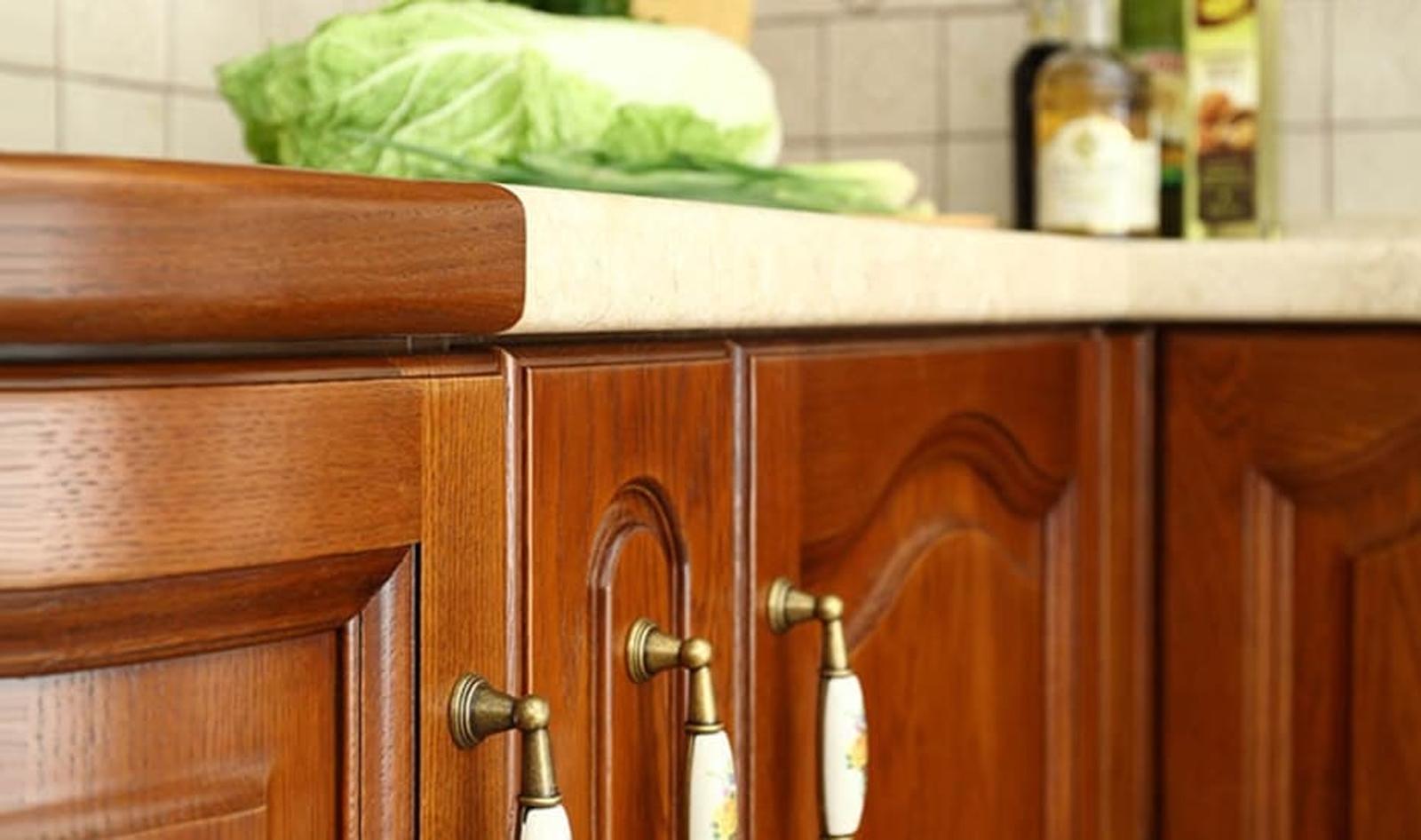 küchenzeile holz traumküche
