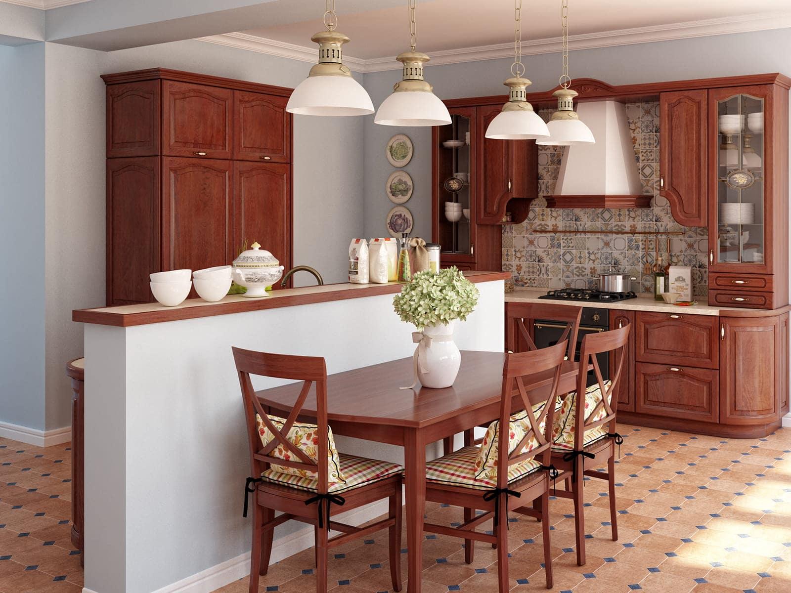 klassische küche küchenmöbel vintage