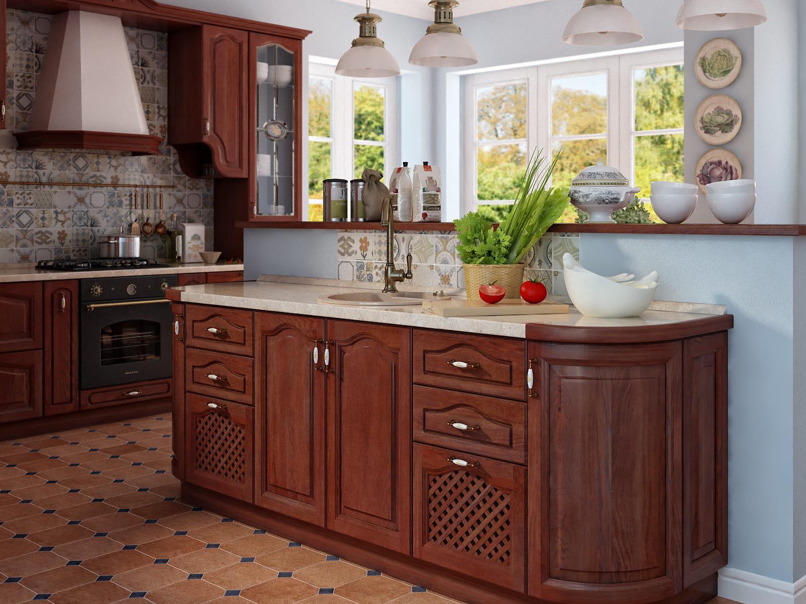 vintage küche landhausküche massivholz