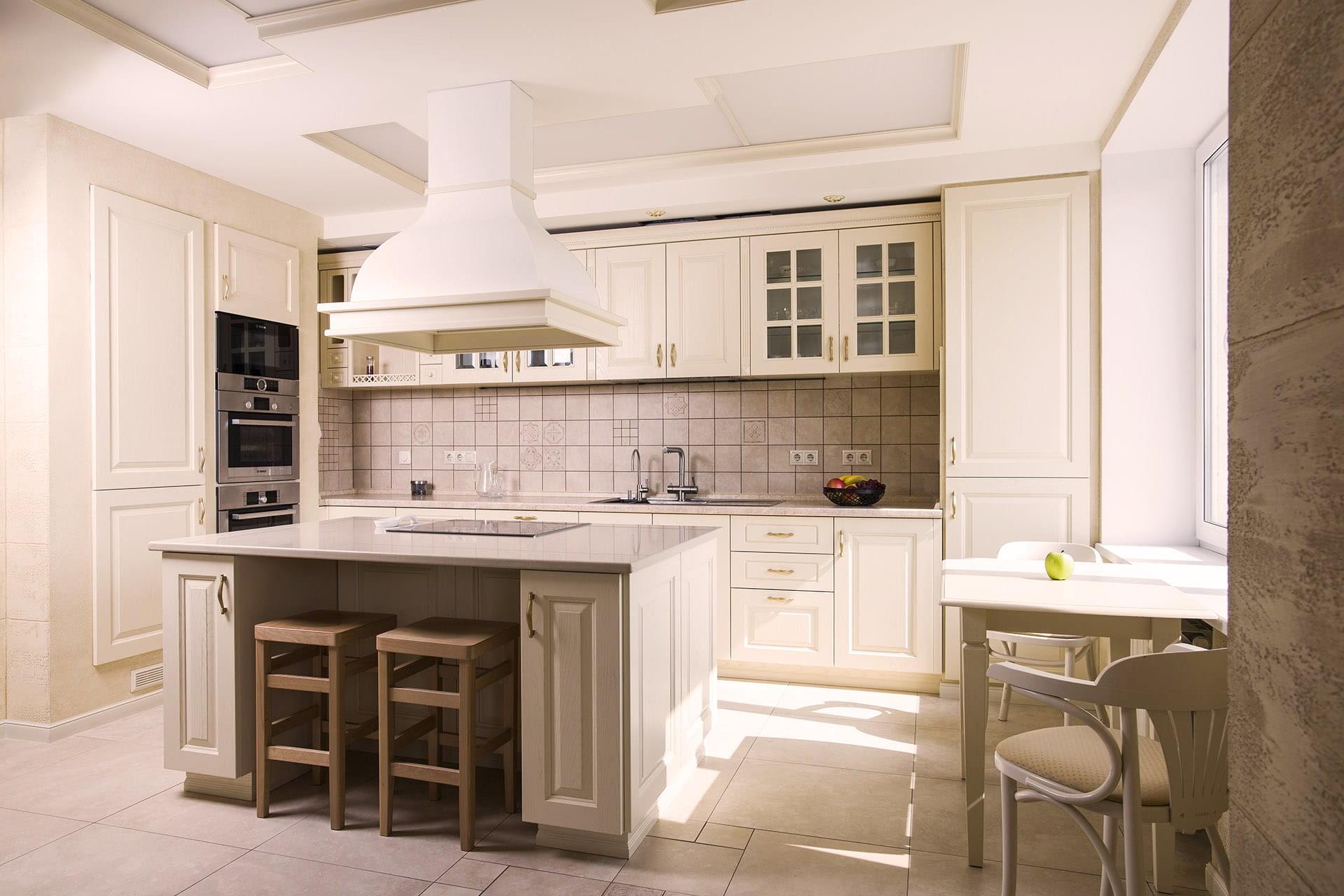 landhausküche französische küche creme küchenzeile