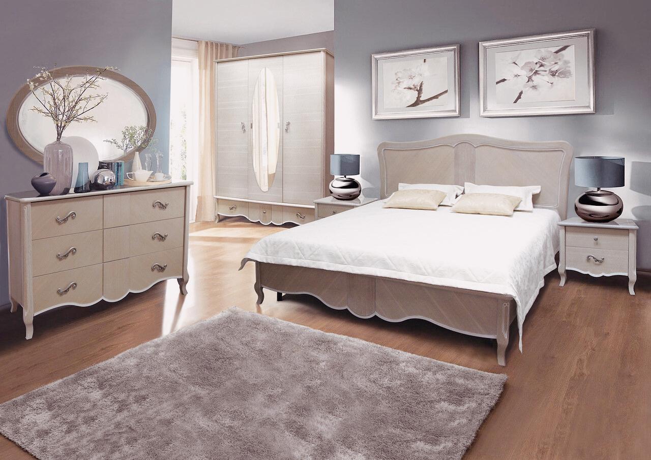 massivholzmöbel schlafzimmermöbel rokoko barock schlafzimmer komplett set