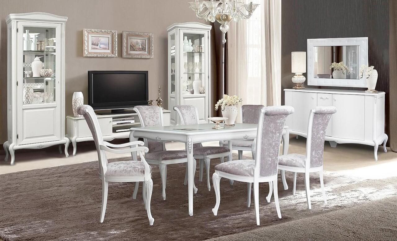 esszimmer landhausstil esszimmergruppe esstisch mit 6 stühlen