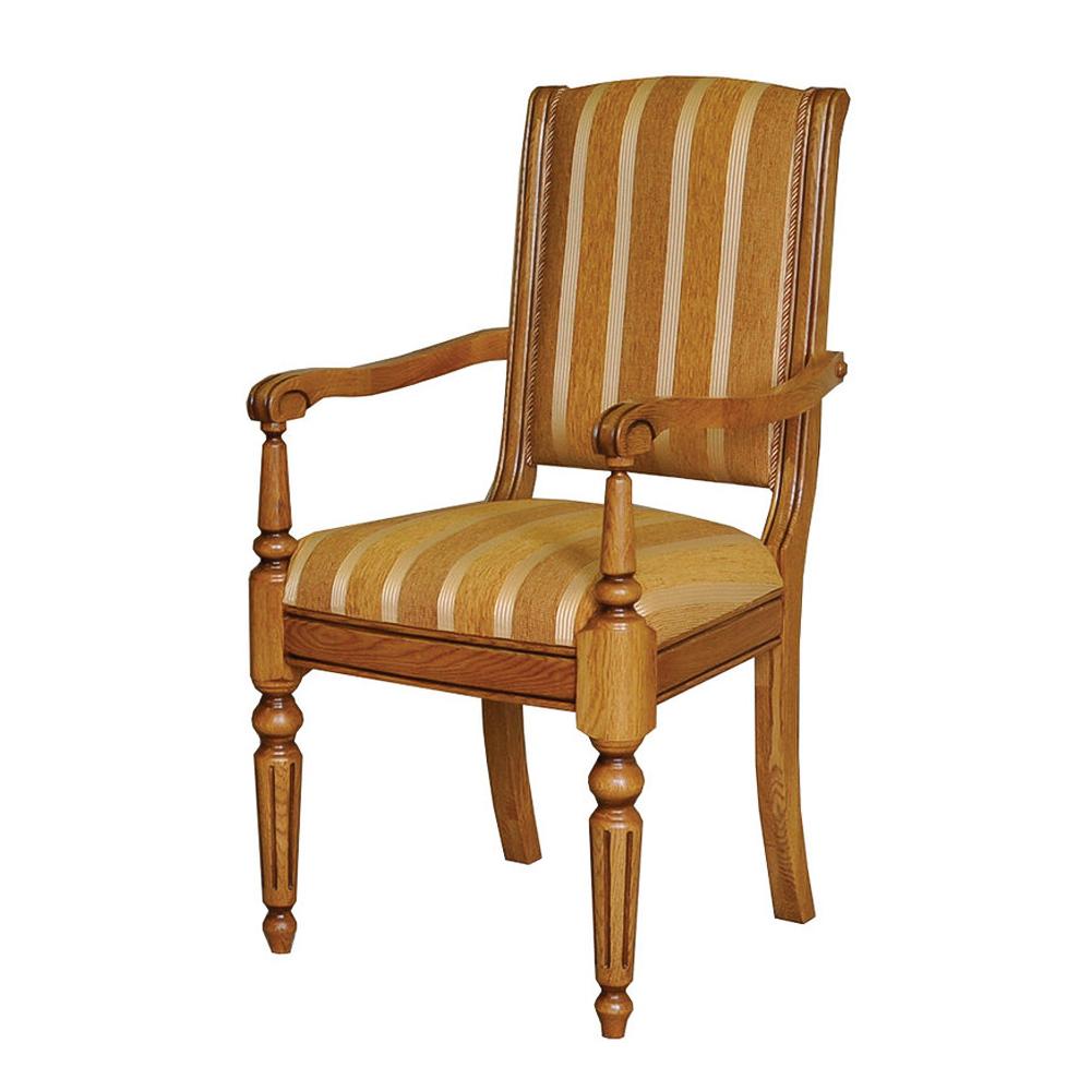 holzstuhl landhausstil vintage Stuhl mit Armlehnen