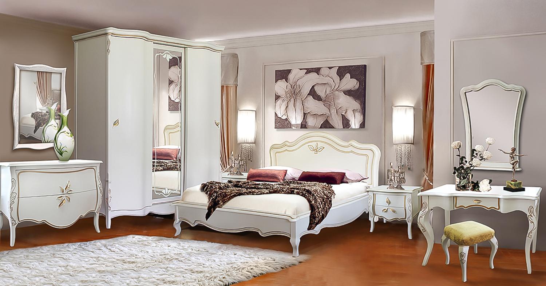 weiße schlafzimmermöbel massivholzmöbel romantisches schlafzimmer