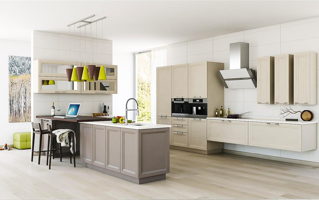 moderne küchen küche mit kochinsel landhausküche einbauküche weiß braun