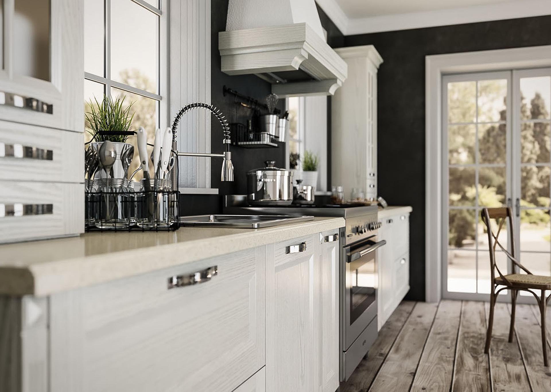 küchenzeile rustikal designer küchen küchenzeile mit elektrogeräten einbauküche rustikal