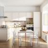 küchenmöbel küchen l form weisse landhausküche küchen design