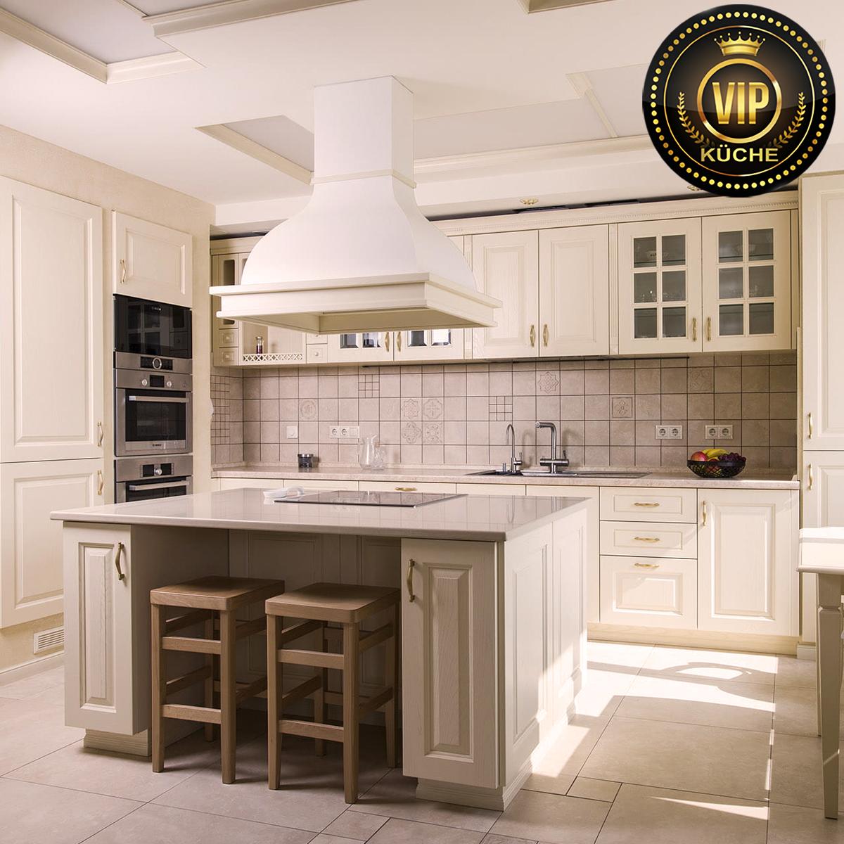 küche kaufen landhausstil massivholzküche mediterran beige küche creme