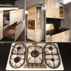 küchen aus naturholz küche mit elektrogeräten küche mit gasherd landhausküche mit kochinsel