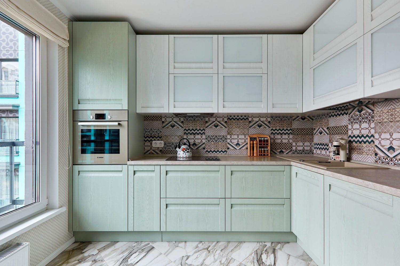 küche weiß grün schöne küchen