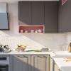 graue küche küchenideen kueche design eckküchen