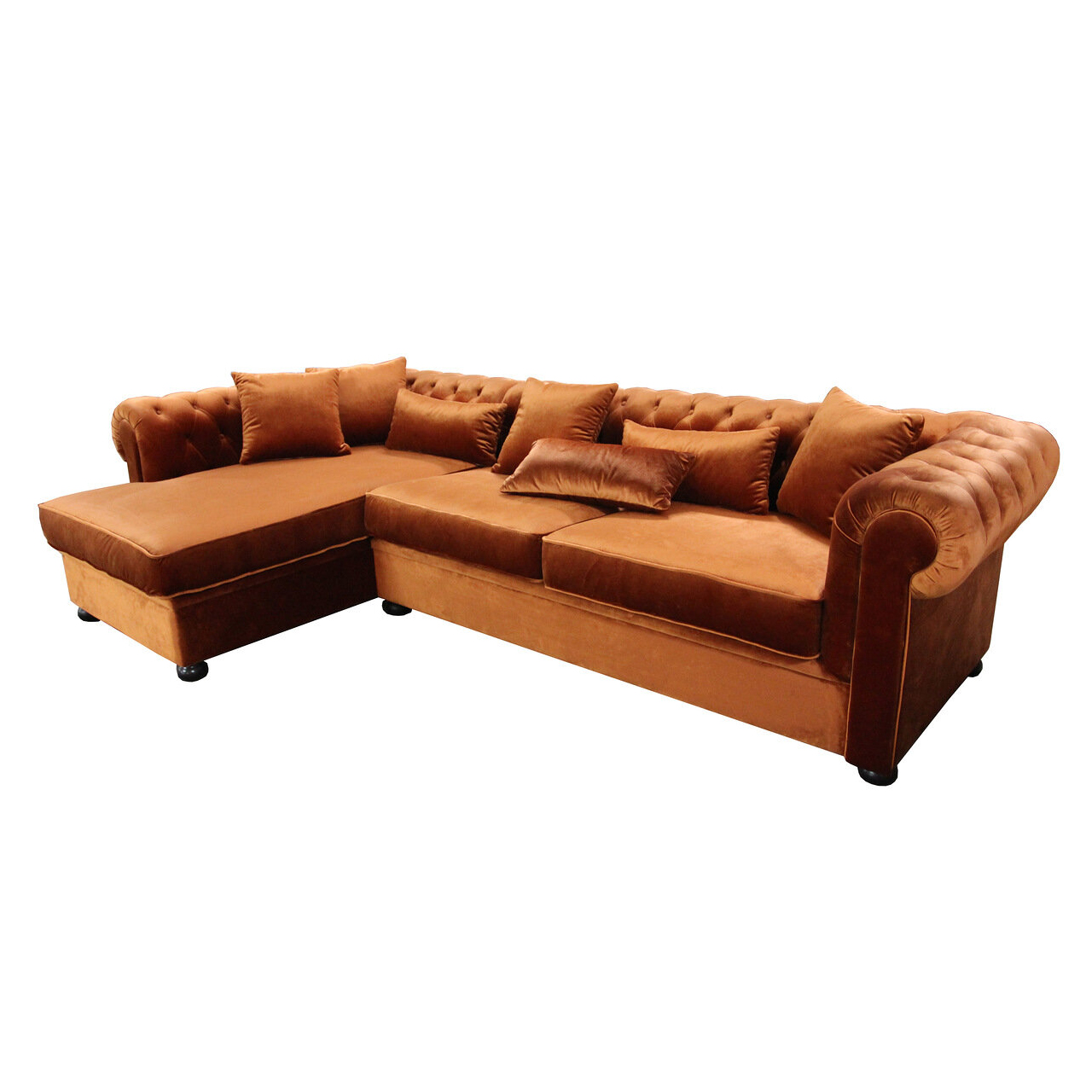 chesterfield eckcouch schlafsofa couch mit schlaffunktion