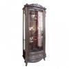 wohnzimmer vitrine vintage vitrinenschrank antik eiche