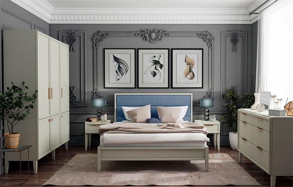 schlafzimmer komplett modern