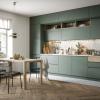 küchen modern küchenblock offene küche wohnzimmer