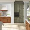 küche landhausstil italienische küche massivholzküche küchenzeile holz massiv