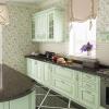 luxusküche massivholz küche grün kücheneinrichtung küche planen designerküche