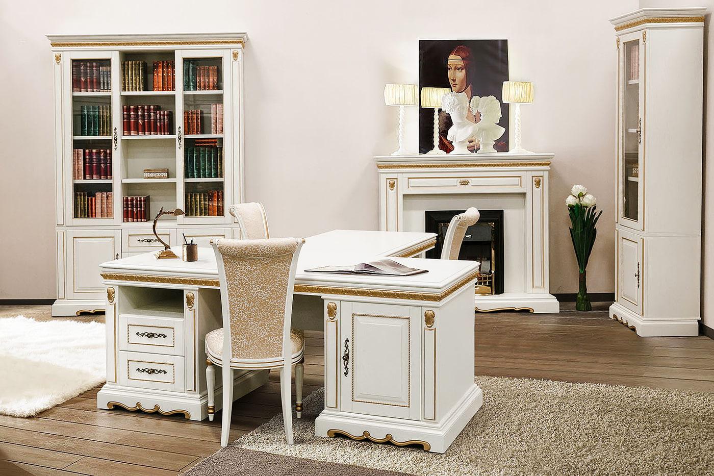 echtholz büromöbel komplett