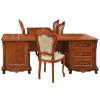luxus büromöbel echtholz bürotisch schreibtisch massivholz