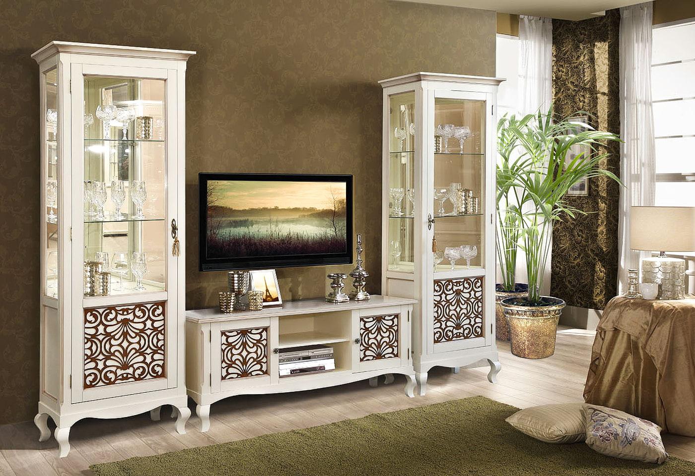 klassisches wohnzimmer weiss echtholz