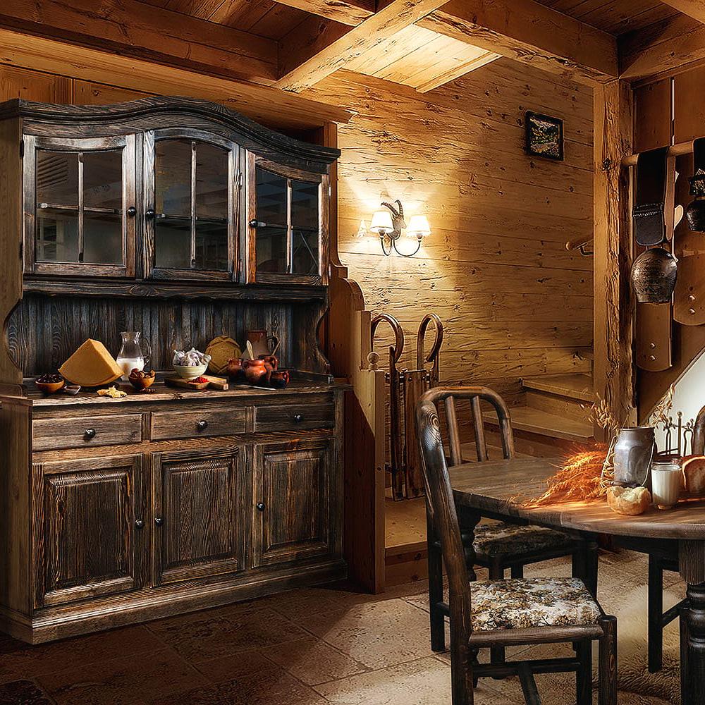 esszimmer landhausstil rustikal massivholz esszimmermöbel holz kiefer möbel