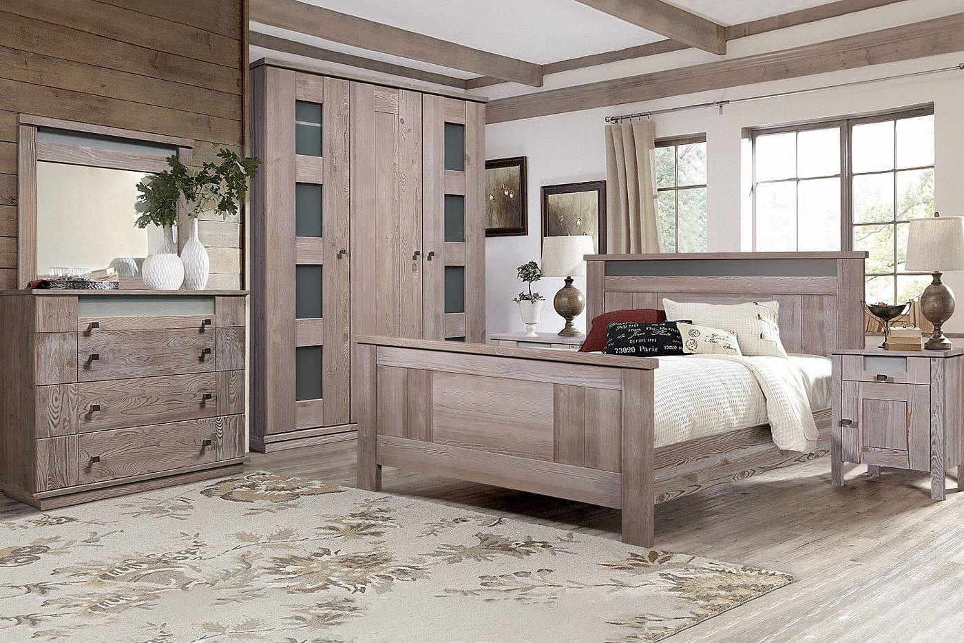 kiefer schlafzimmer komplett