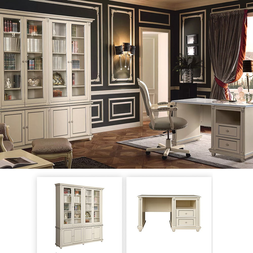 büromöbel holz design massivholzmöbel arbeitszimmer set büromöbel holz