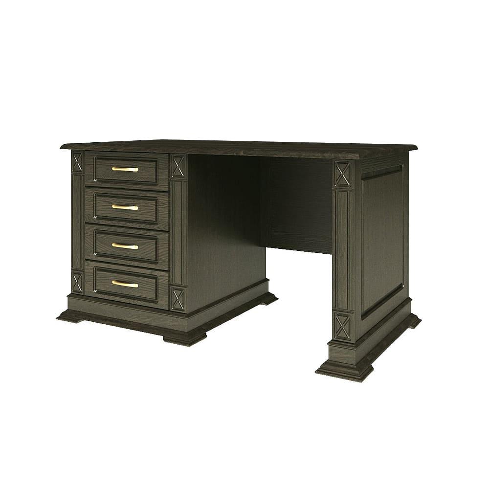 Massivholz Bürotisch Schreibtisch andhausstil Wenge