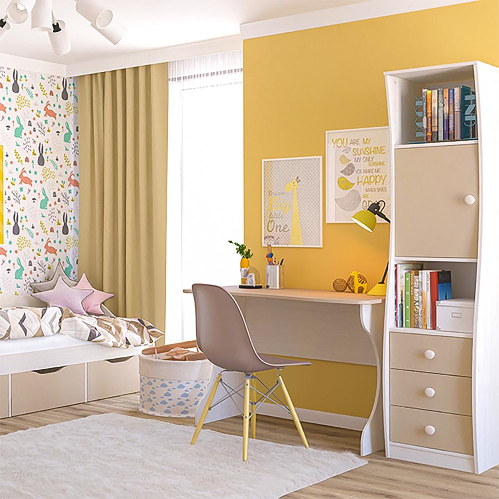 ROBIN Komplett Kinderzimmer Jugendzimmer, modern, Milchkaffee / Beige